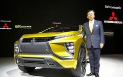 【東京モーターショー15】 eXコンセプト 発表の三菱、SUVと電気の力で一歩先を目指す 画像