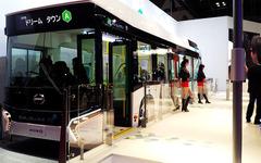 【東京モーターショー15】日野が描く次世代バス交通システムは「運転手にも優しい」 画像