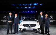 メルセデス GLC、中国で現地生産を開始…GLK 後継車 画像