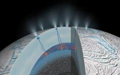 土星の衛星に地球と異なる熱水環境の存在…東京大学など研究チームが明らかに 画像