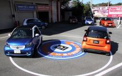 【スマート フォーツー/フォーフォー 新型】乗用車最小の回転半径を実現できた理由 画像