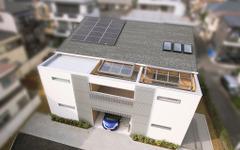 ホンダ×LIXIL、コージェネレーションユニット標準装備の住宅を商品化へ 画像
