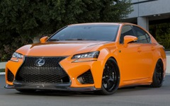 【SEMAショー15】レクサス GS F、早くもカスタマイズ…全身オレンジ 画像
