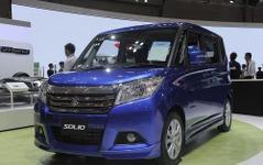 【東京モーターショー15】スズキ ソリオハイブリッド…EV走行でさらに燃費向上[詳細画像] 画像