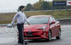 【トヨタ プリウス プロトタイプ 試乗】安全性を大幅に高めた新型、最終評価は市販版で…国沢光宏 画像