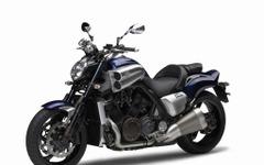 ヤマハ VMAX、2016年モデルを発売…新色ダークパープリッシュブルーを設定 画像