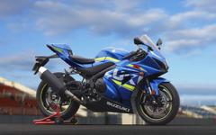 """【ミラノショー15】""""キング""""の名にかけ新開発 スズキ GSX-R1000…MotoGP直系の電子デバイスも 画像"""