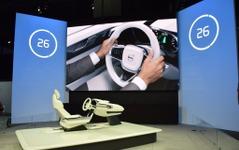 【ロサンゼルスモーターショー15】ボルボ、コンセプト26 初公開…未来の自動運転インテリア 画像