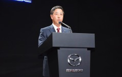 【ロサンゼルスモーターショー15】マツダ小飼社長、新型 CX-9「8割は北米で販売」 画像