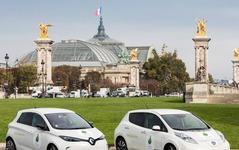 ルノー 日産、COP21に向けEV充電ステーション90基をパリに設置 画像