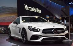 【ロサンゼルスモーターショー15】メルセデス SL、「63 AMG」も進化…585馬力のV8ツインターボ継続 画像