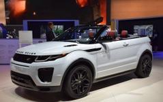 【ロサンゼルスモーターショー15】レンジローバー イヴォーク コンバーチブル…高級小型SUV初のオープンカー[詳細画像] 画像