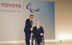 トヨタ豊田社長「スポーツの感動広げたい」…パラリンピックの最高位スポンサーに 画像