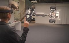 ボルボとマイクロソフト、3Dホログラムを活用した次世代自動車技術を共同開発 画像
