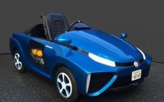 MEGA WEB、子ども向けキットカー ピウス を燃料電池車仕様に変更 画像