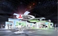 【エコプロダクツ15】三菱電機、鉄道・宇宙など幅広い技術・商品を紹介 画像