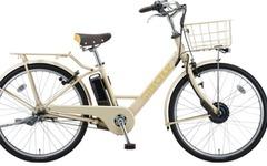ブリヂストンサイクル、セブンティーンとコラボ開発した電動アシスト自転車を発売 画像
