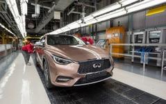 インフィニティ Q30、英国サンダーランド工場で生産開始 画像