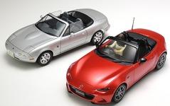 タミヤ、新型ロードスター 1/24スケールモデル発売…記念イベントにマツダ開発スタッフも来場 画像