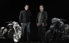 【ホットロッドショー15】BMW、話題のカスタムバイク2台を展示…12月6日 画像