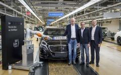 メルセデスベンツ、ドイツ主力工場が累計生産2000万台 画像