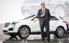 【ロサンゼルスモーターショー15】キャデラック XT5「アウディQ5 よりも45kg軽い」 画像