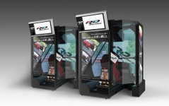 MEGA WEB、バンダイナムコのスポーツ走行体感マシンを期間限定で設置 画像