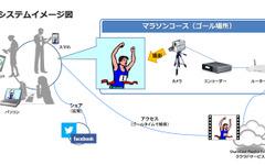 宮崎・青島太平洋マラソン、参加ランナー映像をゼッケンで検索 画像