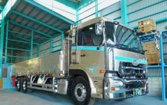 ミシュラン XOne、平ボディー車両に採用で積載量アップ…岐阜の運輸会社が導入 画像