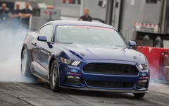 【SEMA ショー15】ゼロヨン8秒台、フォード マスタング に「コブラジェット」 画像