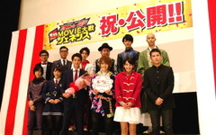 仮面ライダー新作映画、初日舞台挨拶で「10年前にタイムスリップ」 画像