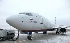 名前は「S・エイゼンシュテイン」…アエロフロート・ロシア航空が新造機受領 画像