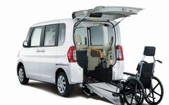 ダイハツ、タント福祉車両をマイナーチェンジ…価格据置で機能向上 画像