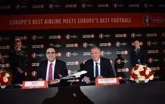 初の公式エアラインに…ターキッシュ・エアラインズがサッカー欧州選手権とスポンサー契約を締結 画像