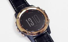【GARMIN fenix 3J Sapphire Rose Gold インプレ前編】まるでブランド腕時計、フォーマル向けに変身した最高峰ABCウォッチ 画像