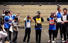 VR技術で「未来の運動会」を体感…山口でスポーツ・ハッカソン 画像