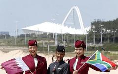 カタール航空、ドーハ=ヨハネスブルグ=ダーバン線の運航を開始 画像