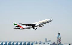 エミレーツ航空、ドバイ=カイロ線を週間17便に増便へ…来年1月から 画像
