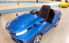 子どもも運転できる燃料電池車 FC-PIUS、メガウェブに登場[フォトレポート] 画像
