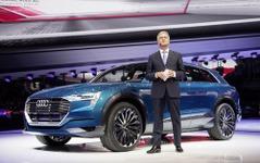 【デトロイトモーターショー16】アウディ、h-トロン・クワトロ 初公開か…燃料電池SUVの可能性 画像