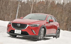 マツダ CX-3 雪上試乗、4WD+ディーゼルの組み合わせで凍結路面もやわらか雪も問題なし 画像
