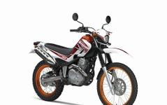 ヤマハ セロー250、新色ホワイト/オレンジを追加 画像