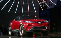 【デトロイトモーターショー16】トヨタ C-HR コンセプト、市販版を初公開か 画像