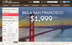 フィジー・エアウェイズ、ナンディ=サンフランシスコ線で季節運航を開始へ…来年6月から 画像