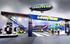 【東京オートサロン16】グッドイヤー、NASCARレース車両を展示…現役ドライバーも来場 画像