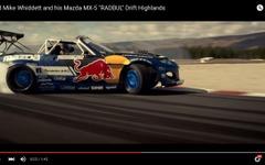 マツダ ロードスター、1500馬力ロータリー仕様が豪快ドリフト[動画] 画像