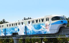 『アナ雪』モノレール、デザイン一新で再登場 画像