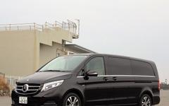 【メルセデスベンツ Vクラス 新型】車内通話機能で安全性もサポート 画像