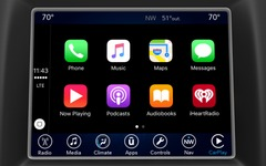 【CES16】FCAの「U connect」、4世代目に進化…CarPlayとAndroid Autoと連携 画像