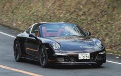 【ポルシェ 911 タルガ4 GTS 試乗】斬新なタルガトップはやはり比類ない魅力…山崎元裕 画像